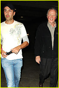 Jon Voight Makes Up With Son James Haven