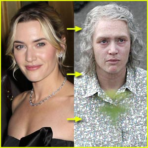 Kate Winslet is Old and Haggard