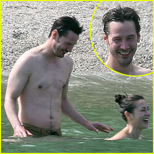 Keanu Reeves is Shirtless, China Chow is Topless