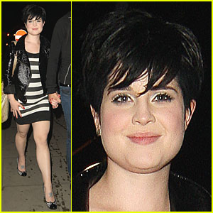 Kelly Osbourne is a Zippin' Zebra