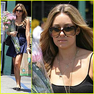 Lauren Conrad's Fun With Flowers