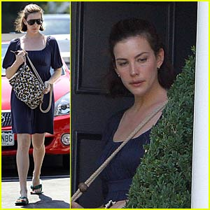 Liv Tyler Goes House Hunting