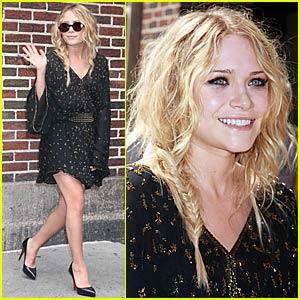 Mary-Kate Olsen is Lovely at Letterman