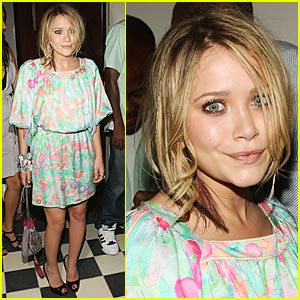 Mary-Kate Olsen is Pastel Pretty