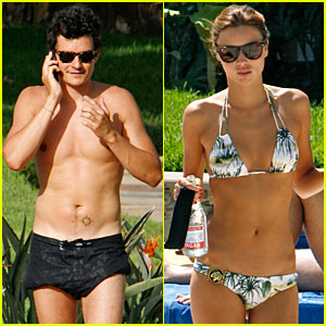 Orlando Bloom is Sexy in Spain