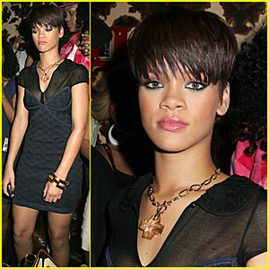 Rihanna Gets Caught in Guest House