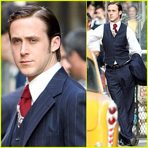 Ryan Gosling Suits Up Nicely