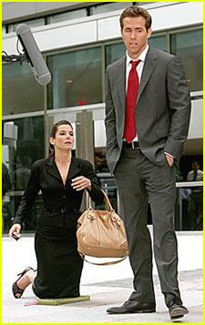 Sandra Bullock Has a Proposal For Ryan Reynolds