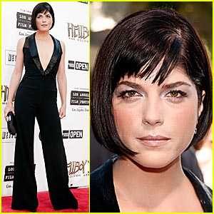 Selma Blair Does the Jumpsuit Jig
