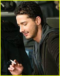 Shia LaBeouf Transforms into a Smoker