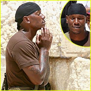 Tyrese is a Praying Man