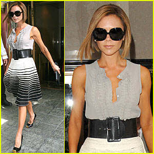 Victoria Beckham is Stylishly Square