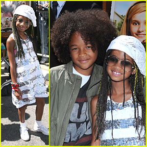 Willow &#038; Jaden Smith: Just the Two of Us