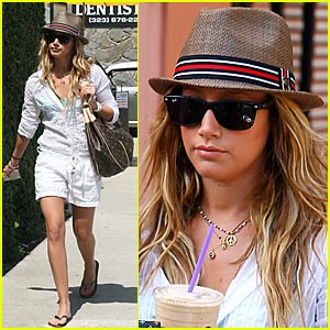 Ashley Tisdale is a Coffee Bean Babe