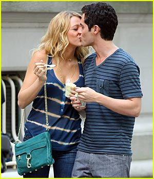 Blake Lively & Penn Badgley Have The Blues
