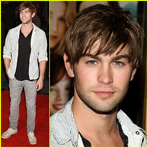 Chace Crawford Pulls Up His Traveling Pants