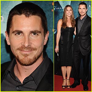 Christian Bale Puts On Brave Face