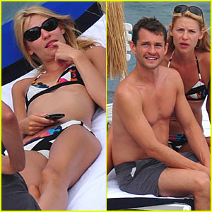 Claire Danes & Hugh Dancy Soak In The Sun