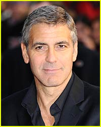 George Clooney Mixes Martinis