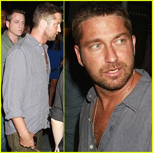 Gerard Butler is a Big Apple Beefcake