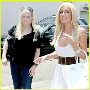 Heidi Montag Meets John McCain's Daughter