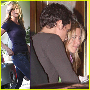 Jennifer Aniston Jets from John's Place