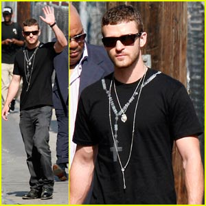 Justin Timberlake is Nuts About Necklaces