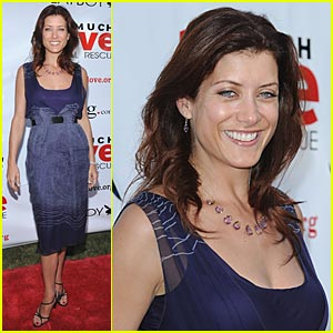 Kate Walsh Gives Much Love -- Bow Wow Wow!