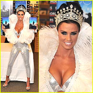 Katie Price is an Angel Uncovered