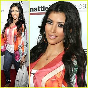 Kim Kardashian Bowls Big