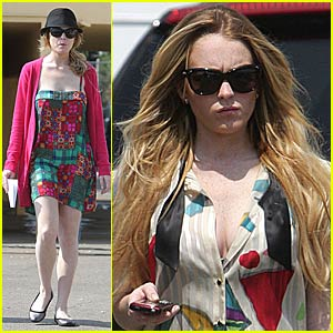 Lindsay Lohan Is On Track For Labor Pains