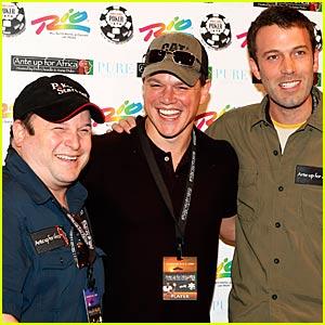 Matt Damon and Ben Affleck are Poker Pals
