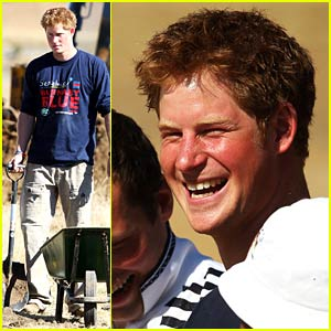 Prince Harry Lends a Hand to Lesotho