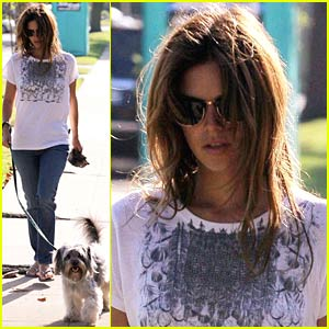 Rachel Bilson is a Pooper Scooper