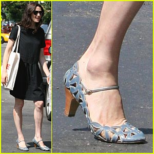 Rachel Weisz Goes Powder Blue