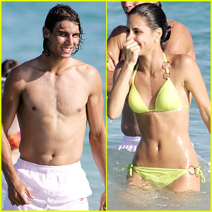 Rafael Nadal Has A Bikini Babe Bikini Rafael Nadal Shirtless Just Jared