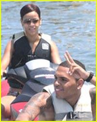 Rihanna & Chris Brown are Jetski Jolly