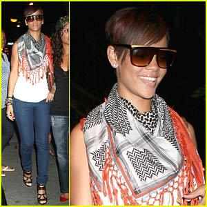 Rihanna Digs Da Silvano