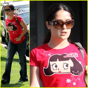 Salma Hayek is Little Lulu
