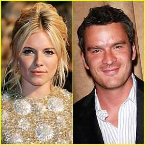 Sienna Miller & Balthazar Getty Caught Kissing