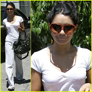 Vanessa Hudgens' Wondrous Workout