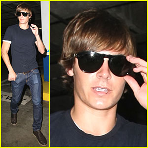 Zac Efron is a Toothpick Tease