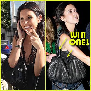 Win Audrina Patridge's Andrea Brueckner Handbag