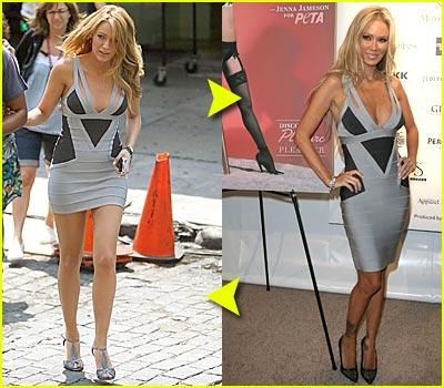 Fashion Faceoff: Herve Leger Dress