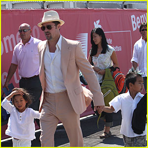Brad Pitt: Boy's Day Out!