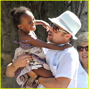 Zahara Jolie-Pitt: Zip-A-Dee-Doo-Dah Zip-A-Dee-A!