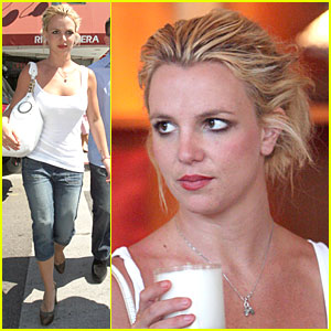 Britney Goes Candle Crazy