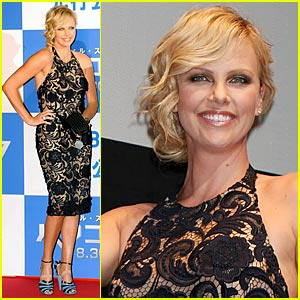Charlize Theron is Big in Japan