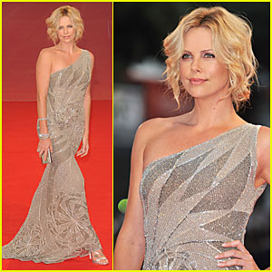 Charlize Theron is Very Versace