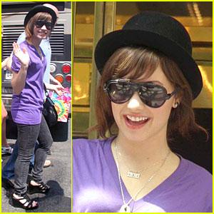 Demi Lovato is a Purple Princess